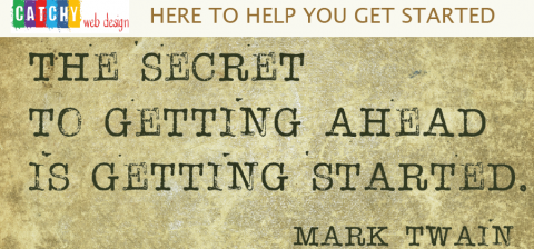 Help get Started by Catchy web design