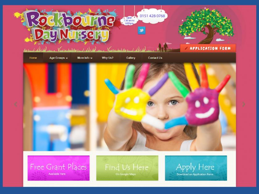 Catchy web design