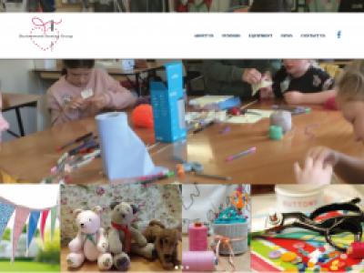 Starter website package for Burtonwood sewing group