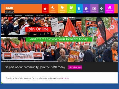 GMB trade union seo and website maintenance