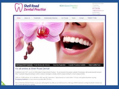SEO work on Sheil Road Dental