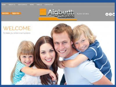 new website designed and developed